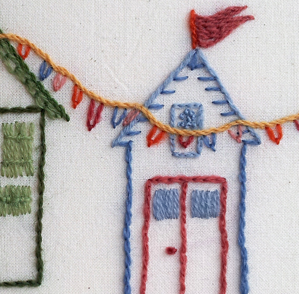 Beach Huts detail
