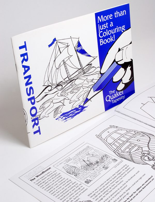 Colouring Book Transport