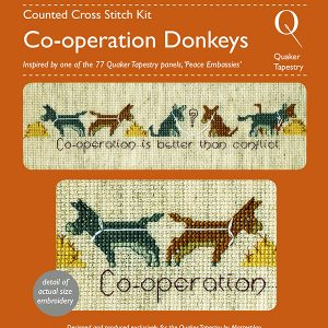 Donkeys Cross Stitch Kit