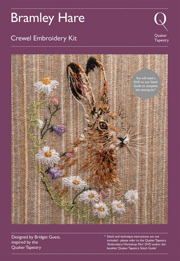 Bramley Hare Embroidery Kit