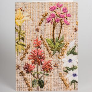 Floral Lattice Greetings Card