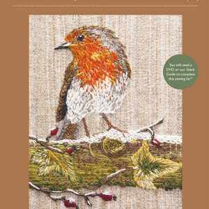 Robin Embroidery Kit