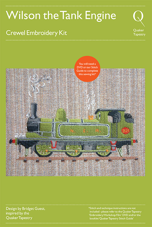 Wilson the Train embroidery kit