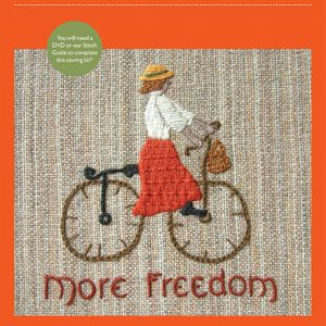 More Freedom embroidery kit