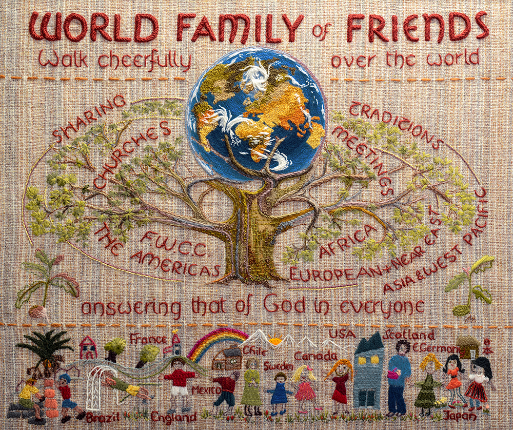 World Family of Friends print