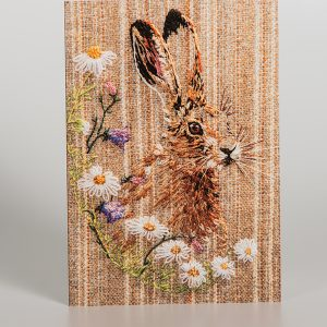 Bramley Hare Greetings Card