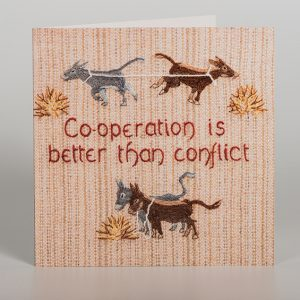 Donkeys Greetings Card