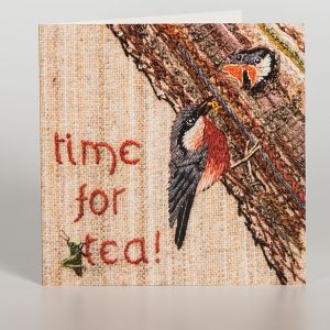 Time for Tea Greetings Card