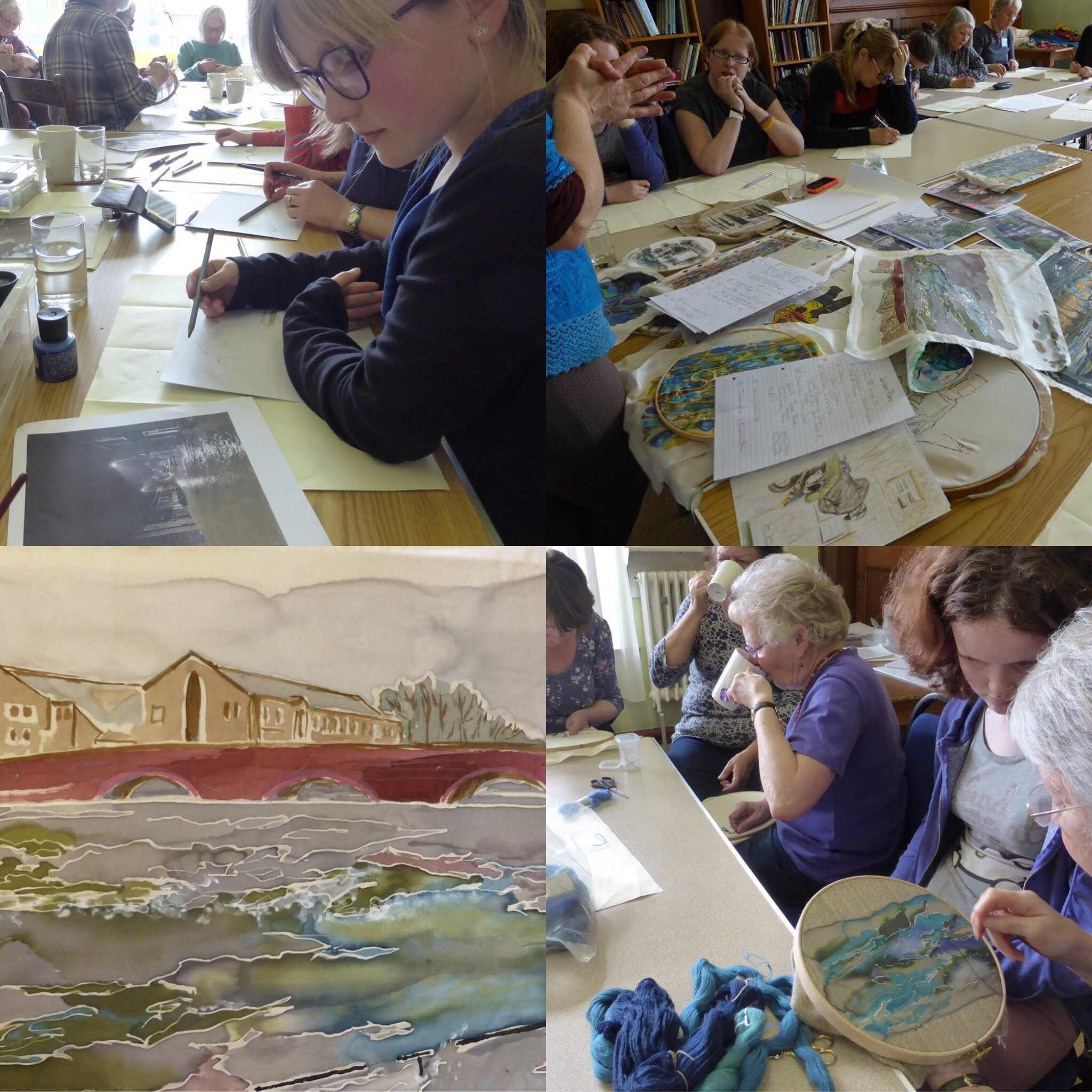 Participants of Flood Tapestry Workshop