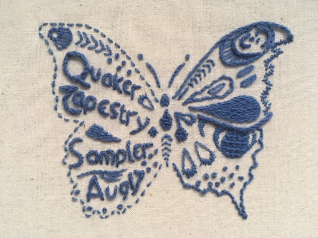 Butterfly Sampler by one of our students