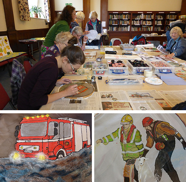 Kendal Flood Tapestry Workshop