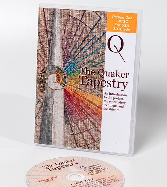 Quaker Tapestry stitch film NTSC