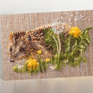Pickles Hedgehog Greetings Card