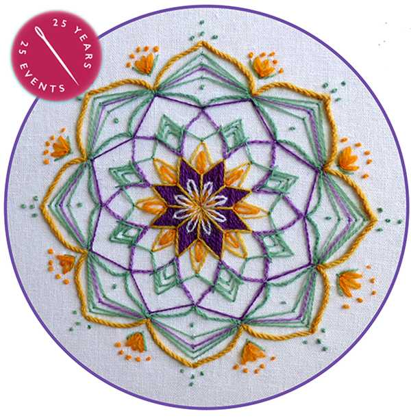 Mandala Embroidery