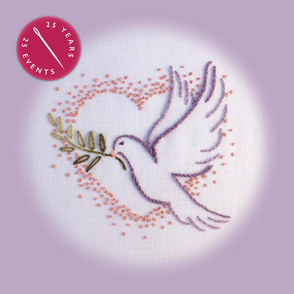 Dove Embroidery