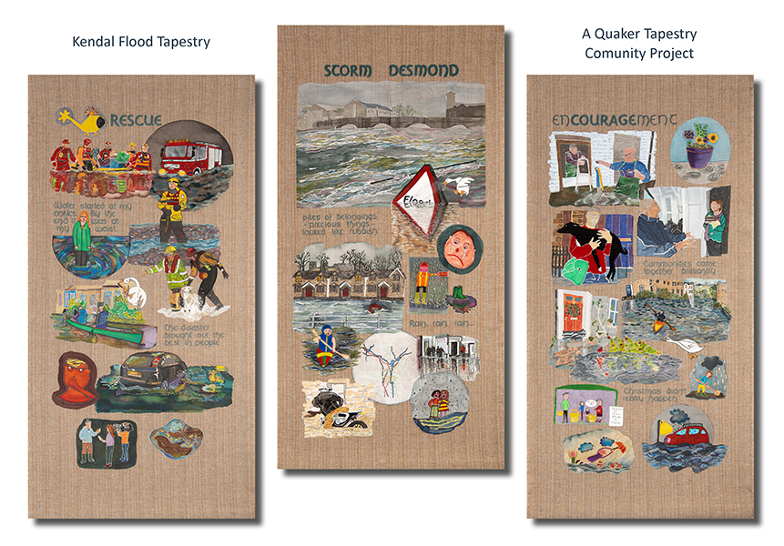Kendal Flood Tapestry A Quaker Tapestry Community Art Project