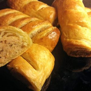 The Garden Cafe Sausage Rolls