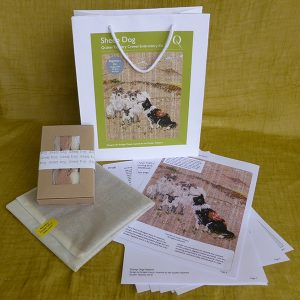 Sheep Dog Embroidery Kit